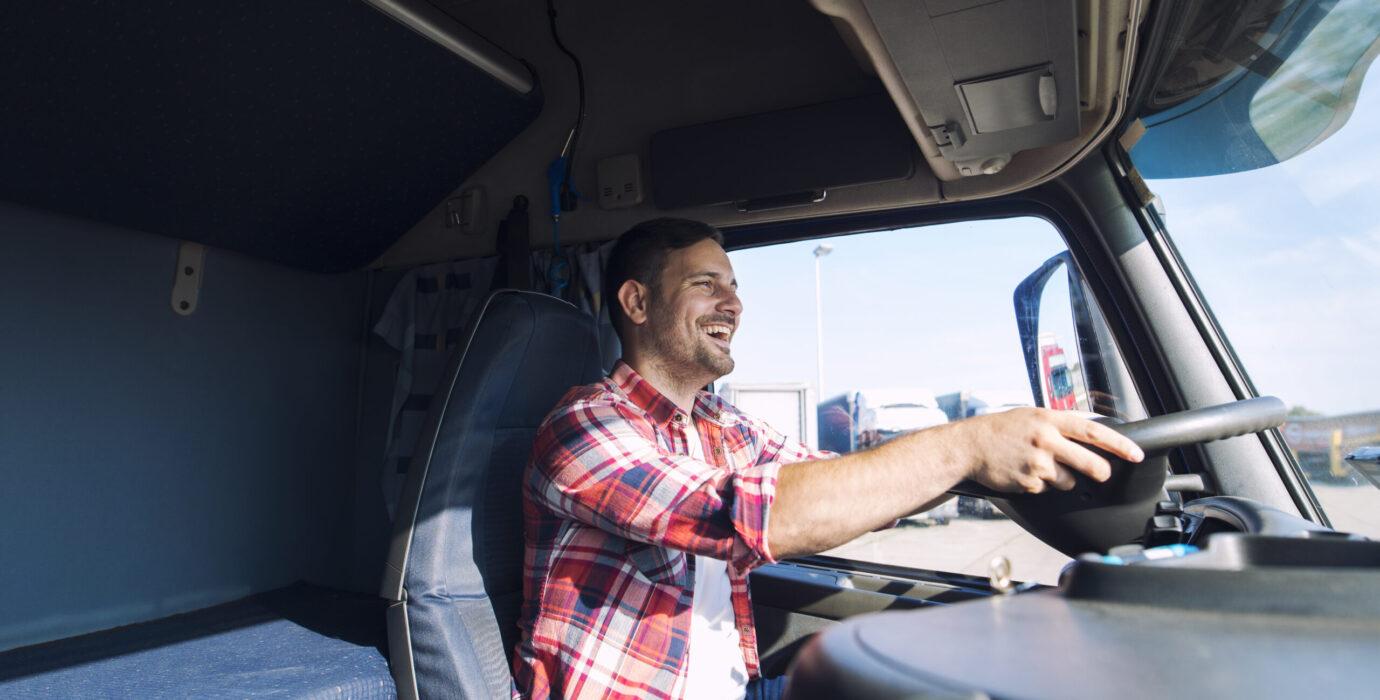 kierowca ciężarówki CE